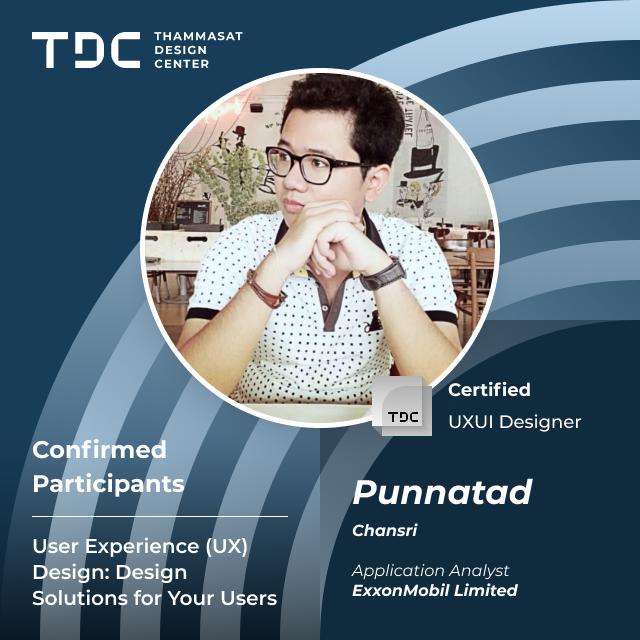 Confirmed Participants - 31 - UX